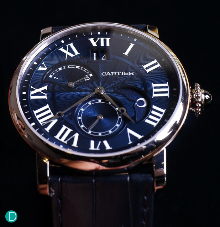 The Rotonde de Cartier in white gold. Only 200 pieces are available.