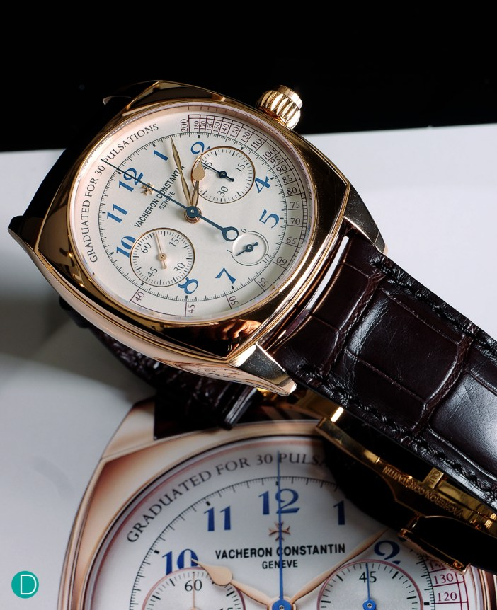 The Vacheron Constantin Single Button Chronograph. Elegant beyond, stylish. And remarkably well finished.