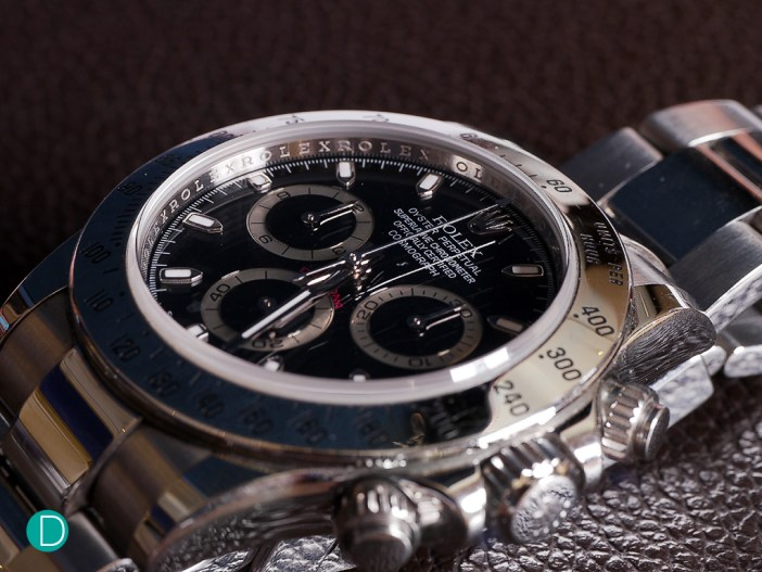 A popular watch for many  seasoned collectors, beginners and casual watch users, the Rolex Daytona fits the purpose in most situations be it dressy or casual.