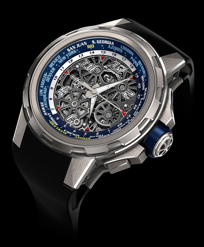 The Richard Mille RM 63-02 World Timer.