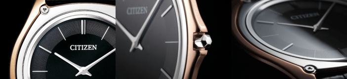 With a Bezel made from Binderless Cemented Carbide and a case of Cermet, the Citizen Eco Drive One is the result of very technical research. In creating an elegant yet abrasion resistant watch, Citizen's acquisition of Frederique Constant means these valuable production methodologies will soon join Swiss mechanical watchmaking expertise.