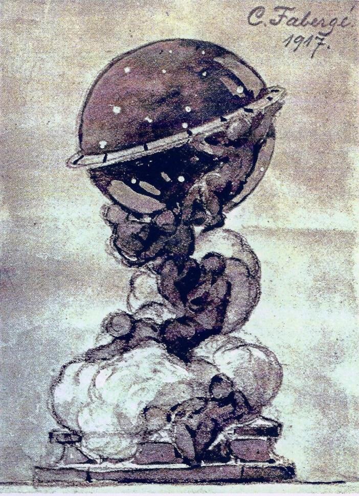 Fabergé Constellation Egg 1917 - Image courtesy of Igor Carl Fabergé Foundation