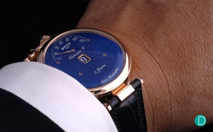 Bovet Amadeo® Fleurier Virtuoso V wristshot
