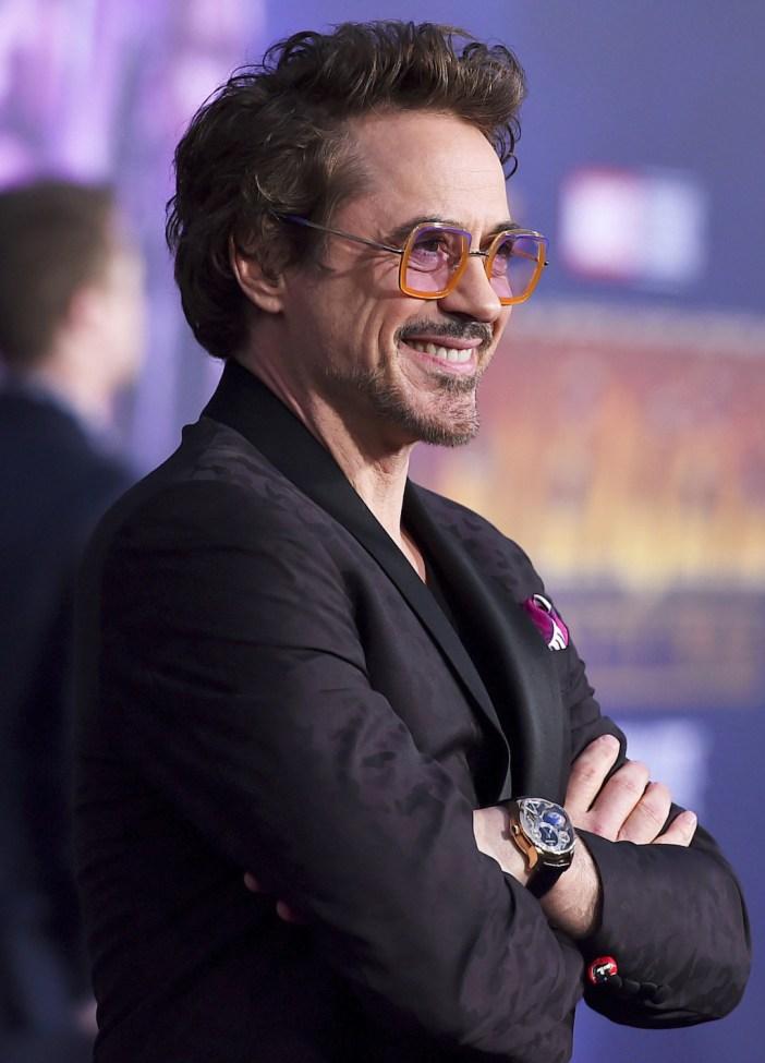 Robert Downey Jr Greubel Forsey GMT
