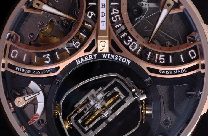 Harry Winston Histoire de Tourbillon 9 dial portrait