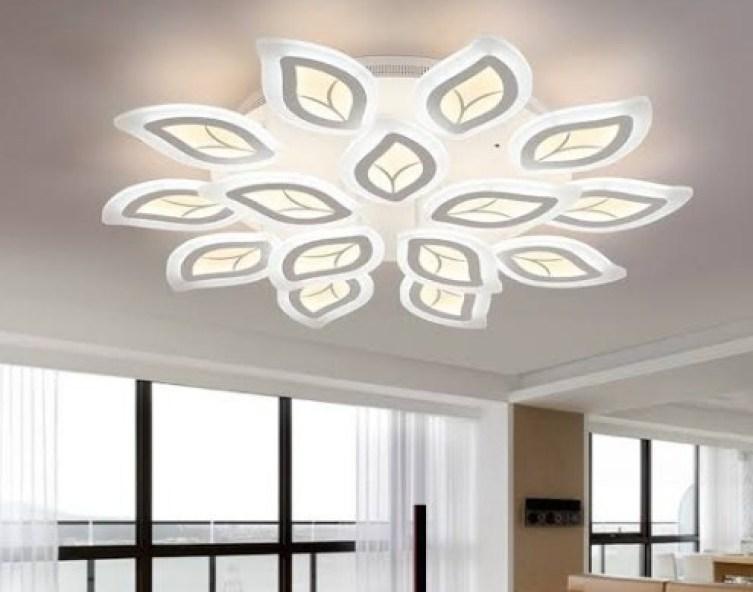 Inspirasi lampu hias ruang tamu
