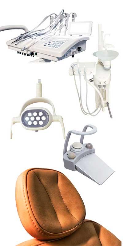 Equipamiento sillón dental FexUp de Bader