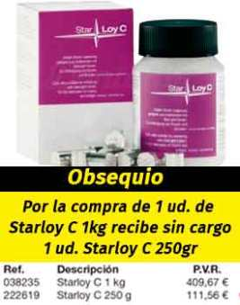 Aleaciones CrCo STARLOY C para cerámica