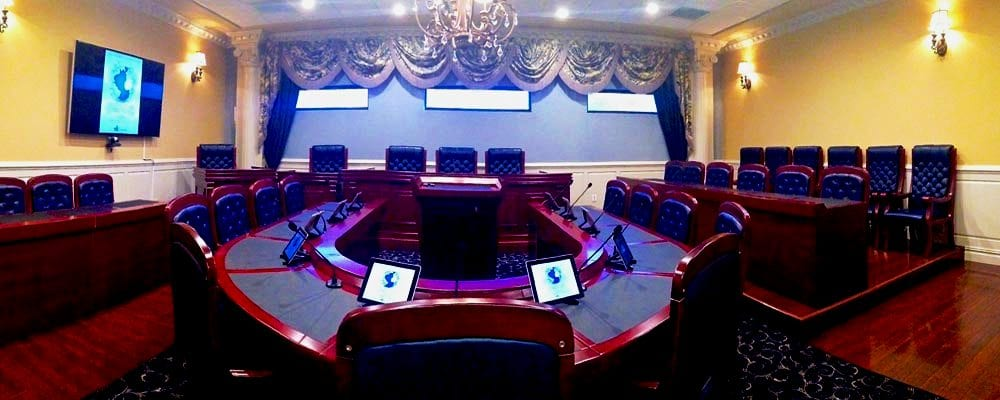 Depo International Debuts Mock Courtroom in Las Vegas