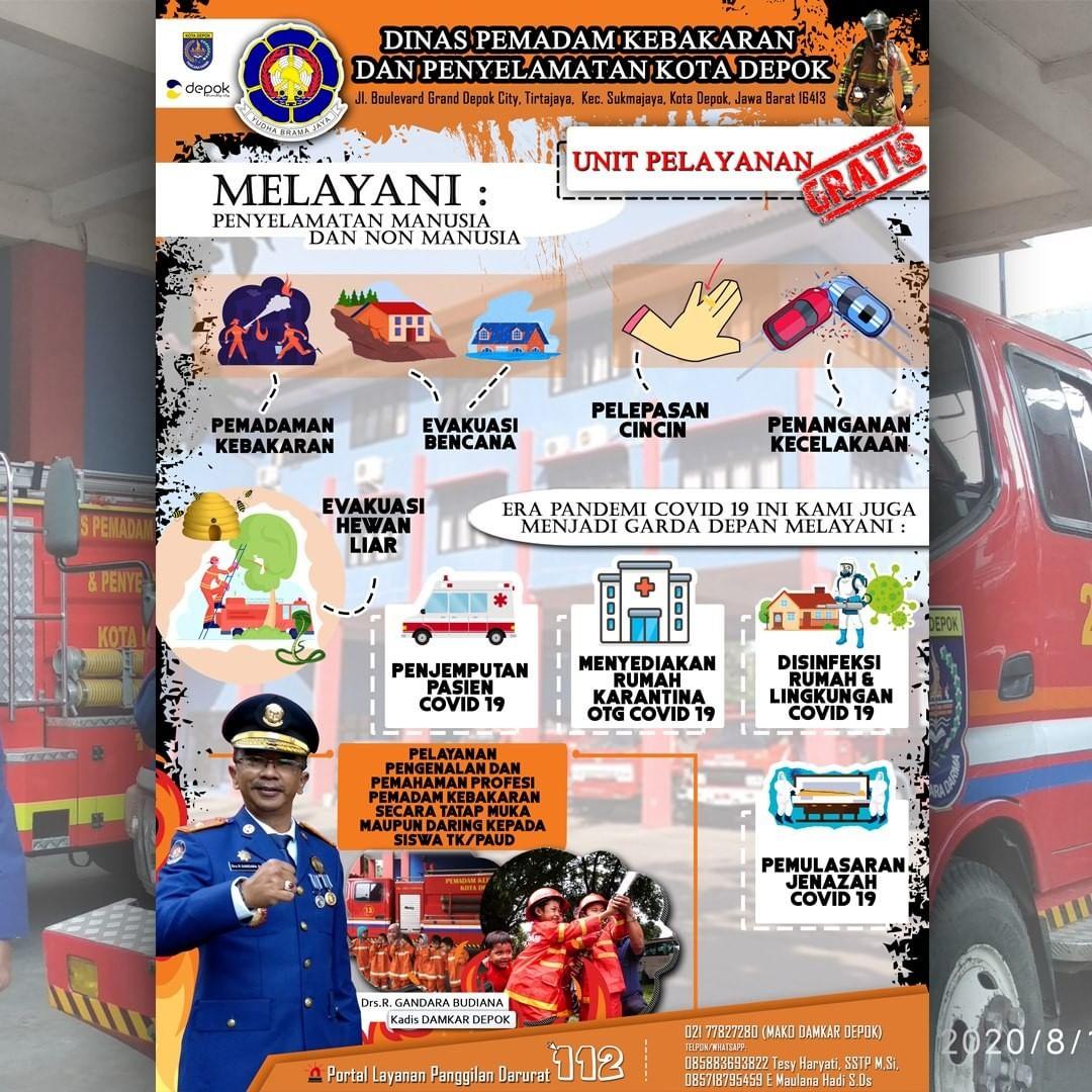 Dinas Pemadam Kebakaran Kota Depok