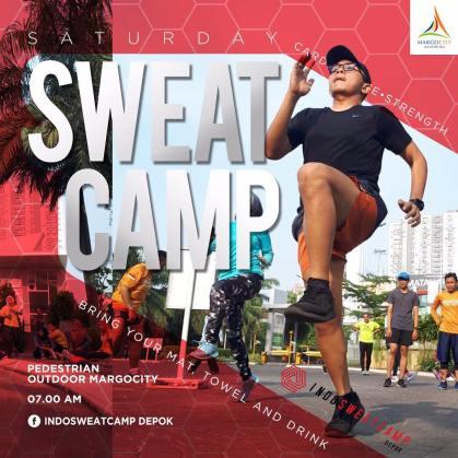 Indo Sweat Camp Depok di Margo City Depok Sabtu
