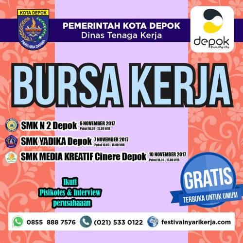 Job Fair SMK Negeri 2 Depok Nov 2017
