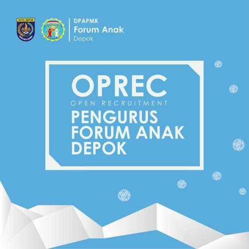 Open Recruitment Forum Anak Depok