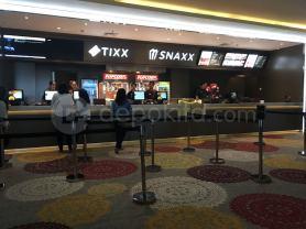 Tixx and Snaxx Counter Cinemaxx Depok Town Square