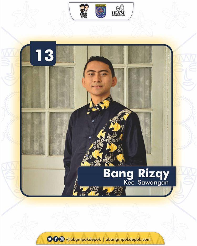 13 Finalis Abang Depok 2019 Rizqy Maulana Hakim