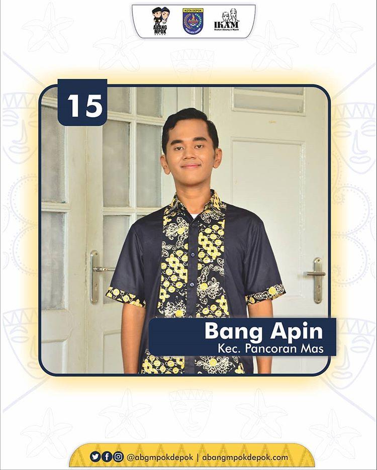 15 Finalis Abang Depok 2019 Dwi Alfian Hadi Santoso
