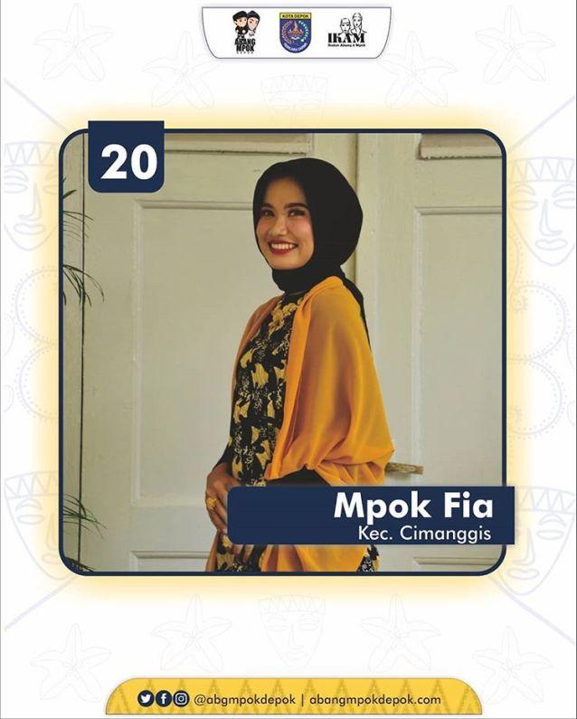 20 Finalis Mpok Depok 2019 Nur Syaffia Suri