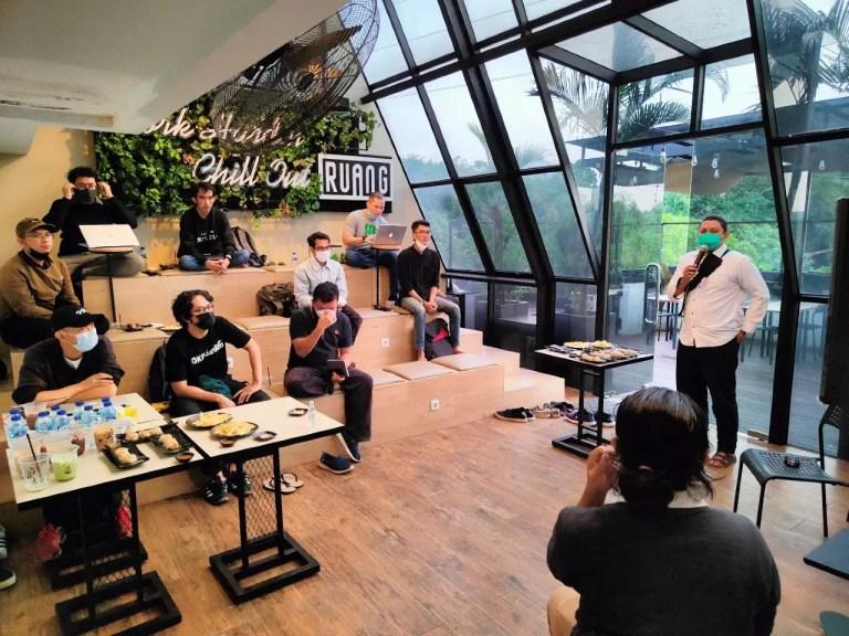 Mini Gathering Indigo Space Bogor Depok - Perkenalan Founder Startup Bogor