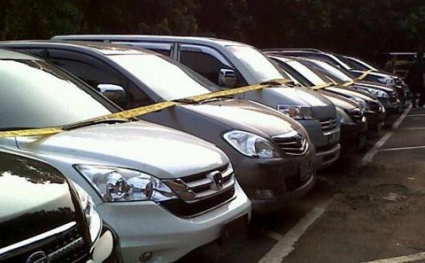 Polresta Depok Merilis Daftar Mobil Sitaan