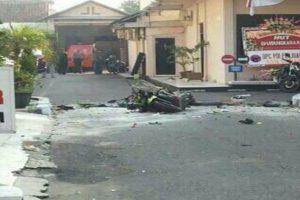ledakan bom
