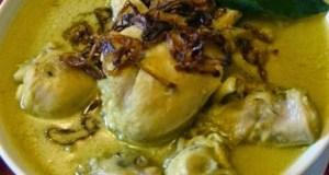 Opor Ayam Mengguga Selera