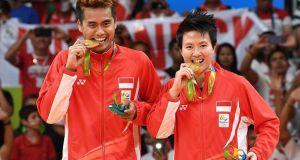Tantowi/Liliyana berhasil mempersembahkan medali emas untuk Indonesia.