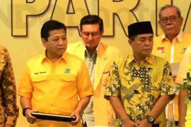 Rapat Pleno DPP Partai Golkar memutuskan untuk mengembalikan jabatan Setya Novanto sebagai Ketua DPR RI.