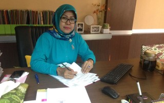 Kepala Dinas Kesehatan Kota Depok dr. Noerzamanti Lies Karmawati.