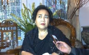 Rahmawati Soekarnoputri dijemput polisi.