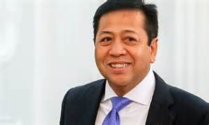 Ketua Umum DPP Partai Golkar Setya Novanto yang juga Ketua DPR RI.