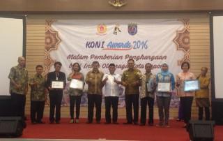 Inilah Peraih KONI Award 2016.