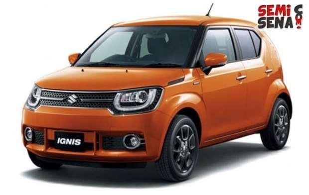 Mobil SUV Suzuki Ignis mulai masuk pasar Indonesia.
