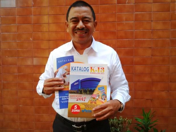 Desfandri ditunjuk sebagai vendor buku-buku pelajaran Kurtilas wilayah Kota Depok.