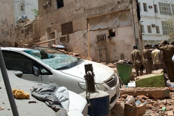 Bom bunuh diri di Mekkah mu