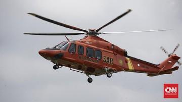 Helikopter Badan SAR Nasional menabrak tebing di Temanggung,