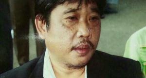 Wing Iskandar mantan Ketua Kadin Kota Depok meninggal 31 Juli 2017.
