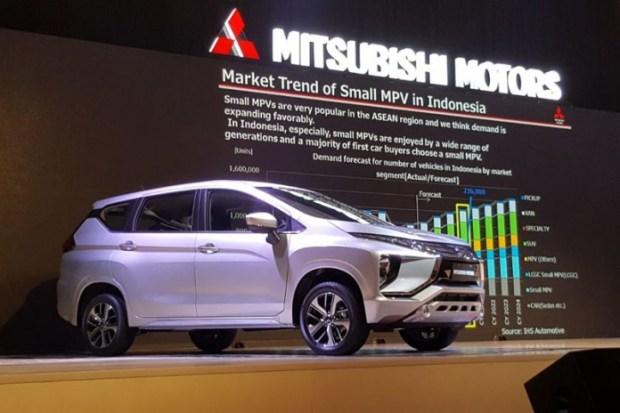 Mitsubishi memperkenalkan mobil MPV saingan Avanza.