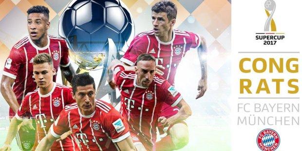 Bayern Munchen Juara Piala Super Jerman