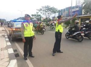 Polresta Depok siap mengamankan Pawai Piala Adipura.