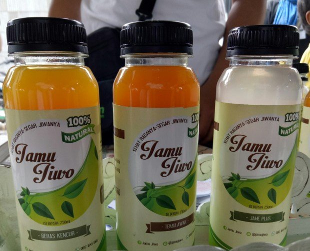 Minuman berkhasiat kesehatan salah satu produk UMKM Kota Depok.