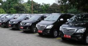 Inilah mobil dinas anggota DPRD Kota Depok yang sudah dikembalikan.