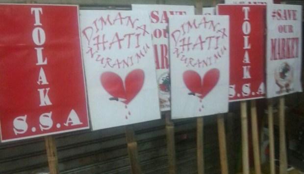 Ribuan warga Kota Depok akan menggelar aksi unjukrasa menolak SSA di 3 ruas jalan di Kor