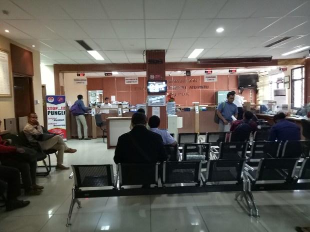 Inilah kantor pelayanan periInan di Dinas PMPTSP Kota Depok.