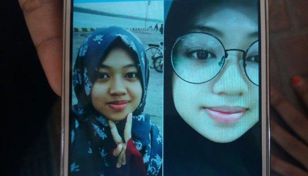 Lutviana Sari alias Vivi, mahasiswi FKM UI dilaporkan hilang sejak awal Oktober 2017