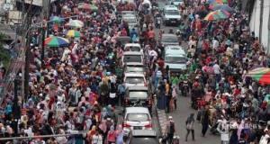 Kini kawasan Tanah Abang macet kembali dan Wagub DKI menyebut kemacetan bukan karena PKL.