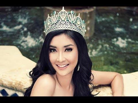 Kevil Liliana, perempuan pertama dari Indonesia yang dinobatkan Miss International.