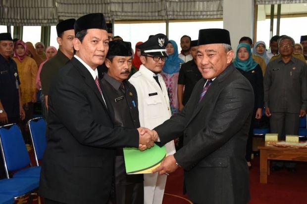 Hardiono dilantik sebagai Sekda Kota Depok.