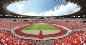 Stadion Utama Gelora Bung Karno tampak begitu megah selesai direnovasi.