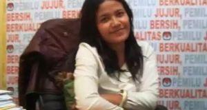 Titik Nurhayati Ketua KPUD Depok.