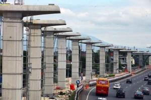 Jalur LRT bakal dibangun sampai Kota Bogor.